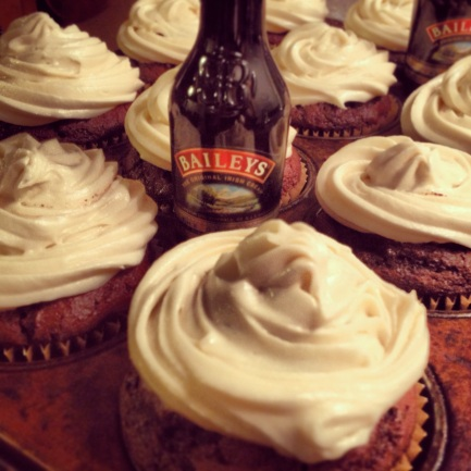 Irish Car Bomb Cupcakes!