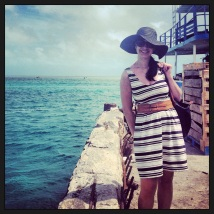Just off the ferry in Bimini