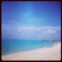 Gorgeous beach- never seen water so blue!